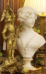 Antique Marble Busts, Bronzes, Paintings, and other wonderful accents to make your home or office unique!