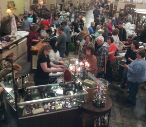 Relics Antique Mall had over 10,000 shoppers at last year's garage sale!
