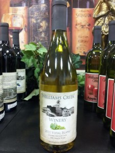 Local Missouri Wines available to purchase by the bottle for take home or by the glass in the Tea Room