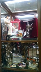 New Elvis Showcase in the Showcase gallery at Relics