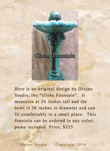 Globe fountain page set1