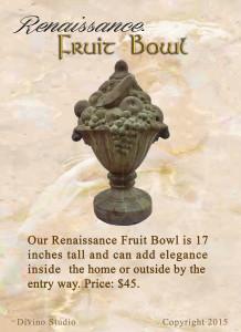 fruit bowl set4