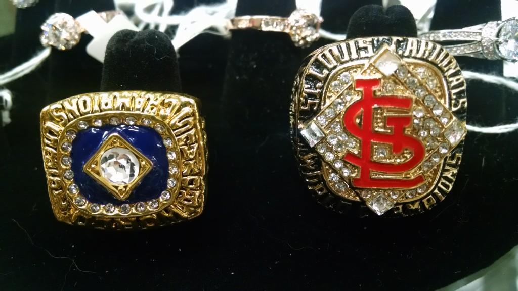 Cardinals Championship Rings