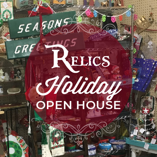 2019 Event Center Calendar - Relics Antique Mall